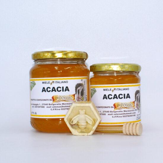 Miele di acacia 2 vasetti