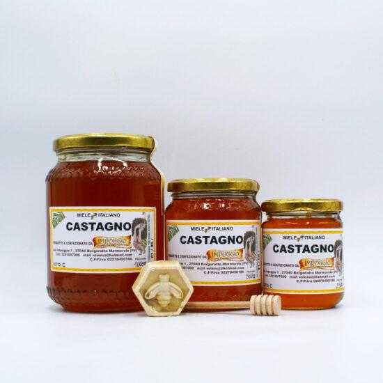 Tris di vasetti di miele